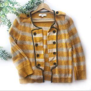 Ann Taylor LOFT   Knit Cotton Sweater Blazer M